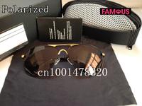 2014 new men's retro sunglasses polarizer blue film glasses driving mirror 8722 designer brand polarized sunglasses for men