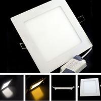 high quality 4W LED panel light Square LED Panel Light led flat panel ceiling lights 15pcs/lot