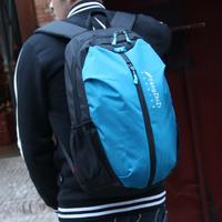 Trend breathable ultra-light double-shoulder school bag nylon waterproof lovers backpack travel bag