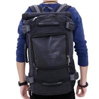 2014 multifunctional backpack one shoulder handbag double-shoulder travel bag large capacity bag