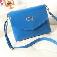 2014 candy color women's bags messenger bag small bag vintage fashion women's handbag