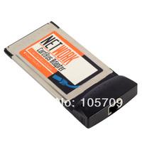 WHOSA 10/100Mbps PCMCIA RJ45 RJ-45 Ethernet Notebook Network LAN Card F1816