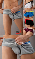 NEW Men's Board Shorts Swimming Front Tie Super Sexy Swim Trunks Shorts Slim Wear