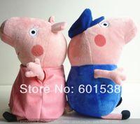 Peppa pig grandfa or grandma,peppa pig family with grandfather and grandmother 10pcs/lot