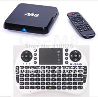 Quad Core CS-M8 XBMC Android TV Box M8 Amlogic S802 2GB/8GB HDMI Android 4.4 Kikat + 500AC Keyboard Mouse