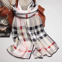 105078 170x52cm 2014 Newest Women's Heavy Crepe Satin Scarf, 100% Silk scarves, rectangle silk scarf, Free Shipping Muslim Hijab