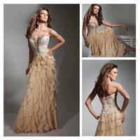 Free Shipping!! 2014 sexy V-Neckoff-shoulder evening dress custom made