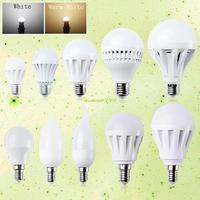 EB2120 E27 Screw 2W 3W 5W 7W 9W 12W Warm White LED Bulb Light Lamp Energy Saving