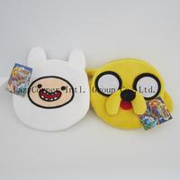 High Quality Adventure Time Finn&Jake wallet/coin bags,Adventure time wallet card bags/phone bags10pcs/lot