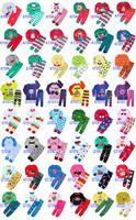 Free shipping baby clothes kids Long sleeves Sleepwear Tops+Pants Boy&Girl PAJAMAS 6 sets /lot