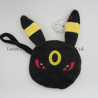 Wholesale and Retail Pocket Monsters Pokemon Pikachu Umbreon Wallet Coin Purse Free Shipping