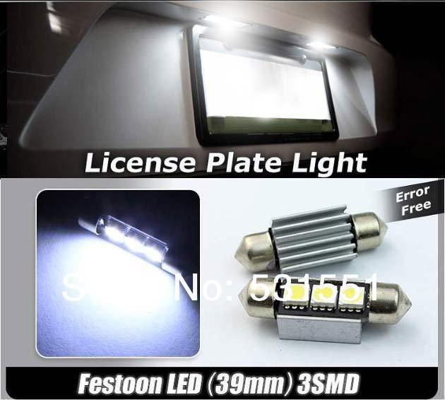 Источник света для авто TODOY 530i 39 5050 SMD CANBUS
