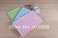 Hot 96 Cavities Diamond Shape 1 Pcs Ice Cube Maker  Ice Cube Tray Chocolate Mold Crystal Plastic Ice Mold Candy Mold
