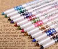 5sets=60pcs Professional Makeup Eyeliner Pencil 12colors Water Proof Long-Lasting Natural Eye liner Pen Cosmetic Kits