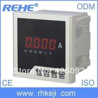 digital  single phase  AC ampere meter panel electronics power meter