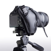 Brand New High Quality Genuine Leather Hand Grip Wrist strap for Camera fit Nikon/ Canon/Sony