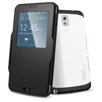 Hot New Luxury Slim Armor View Smart SPIGEN SGP Case For Samsung Galaxy Note 3 III N9000 Hard Flip Cover