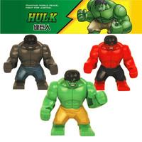 Classic Decool Minifigure Three large Hulk Toy Avengers Block dolls Super heroes Star wars toys Building Blocks Free Shipping