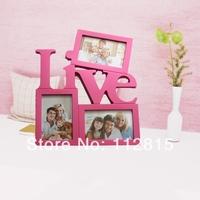 1X LOVE plastic Photo Frame/Frame DIY Picture Frame