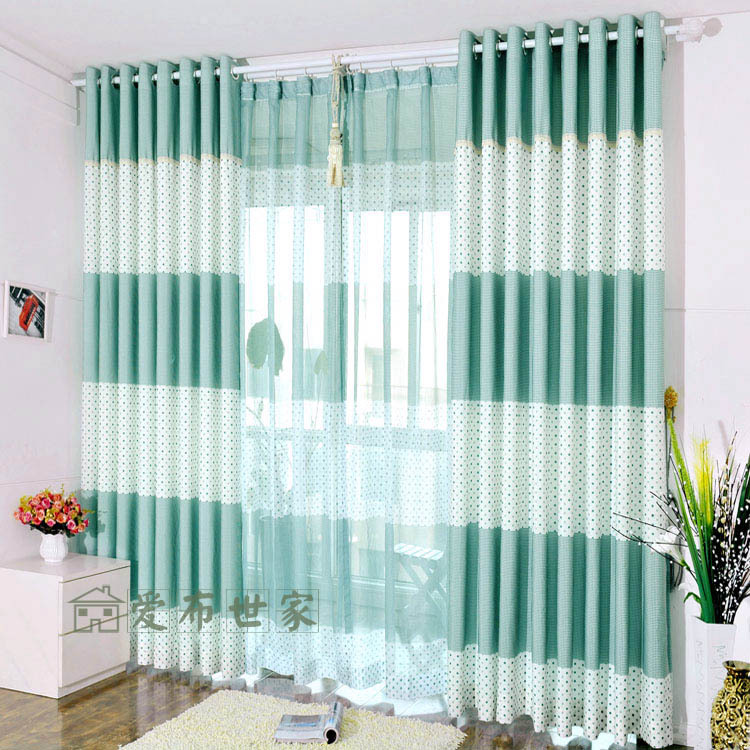Curtains over vertical blinds Decorate the house with beautiful