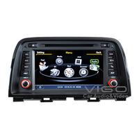 Auto Stereo GPS Navigation for Mazda CX-5 2012+ Radio DVD Player Multimedia Headunit Sat Nav Autoradio Bluetooth A2DP Phonebook