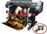 ECO solvent printer with cutter