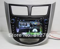 Pure Android 4.2 Car DVD For Hyundai Verna Solaris Capacitive screen A9 Dual Core1.2 GHZ Cpu GPS BT TV Radio RDS,Wifi,Free ship