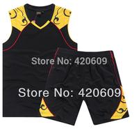 Free Ship Summer Sport Basketball Suit Cloud Solid Kobe Jersey+Short Uniforms Men Custom Uniform