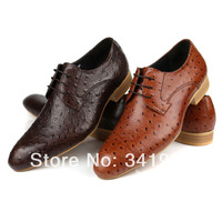 Fashion Men's Casual Pointed Wedding Lace up Loafers Dress Shoes Sneakers Oxfords Eur 37 to 44 Retail/wholesale Free shipping
