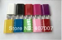 5000pcs/lot EU,No US USB wall charger for Apple iPhone 4 4s iPod,Color EU Plug AC USB Adapter For Apple iPod iPhone4 4s Fedex