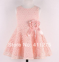 retail girls summer cute princess dress, children kids lovely clothing girl flowers dresses