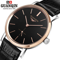 Violin mens watch pianbu vintage mens watch waterproof fully-automatic mechanical watch genuine leather strap watch