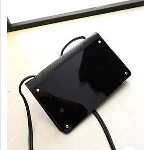 2014 new mobile phone Mini mirror Vintage satchel women fur messenger bags,Black fashion Purse,wallets for women free shipping(China (Mainland))