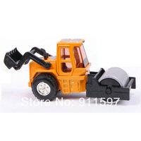 1pcs Free shipping Mini alloy toy single steel wheel pressure Road machine #02