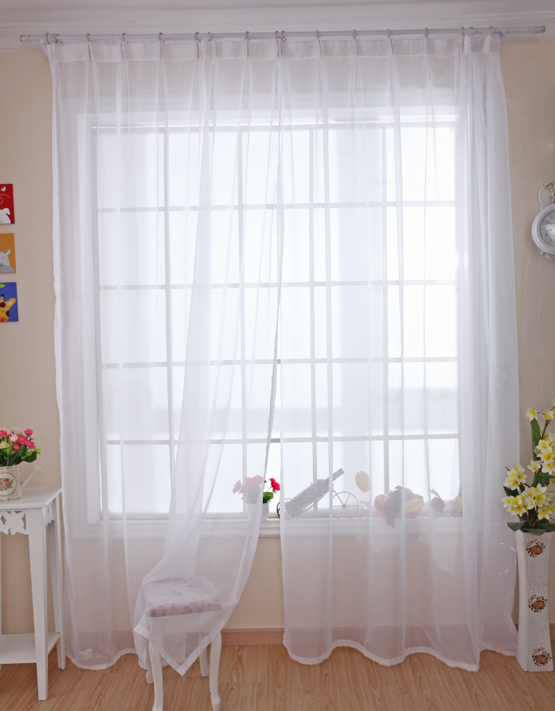 2014 new arrival idyllic bay window curtains living room bedroom