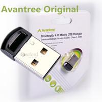 Avantree 100% Original Bluetooth 4.0 + EDR Usb Adapter Low Energy Wireless Dual Model Dongle Support A2DP  50m Wireless Range