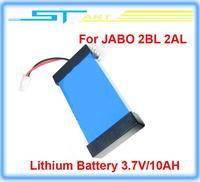5pcs Free shipping Original Lithium Lipo Battery 3.7V/10AH for JABO Bait Boat 2BL 2AL Fish Finder type series NEW wholesale 2014
