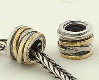 Fs001 925 pure silver bead pendant  jewelry  diy accessories rattails