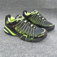 Shoes high quality d3 o male tennis shoes shock absorption slip-resistant wear-resistant light tennis shoes