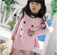 Retail New Girls Cartoon Dress Cute Princess Lace Dress LG5459CH