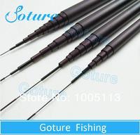 2nd Generation RedWolf Carbon 8.0m pure carbon Hard Hand Stream Fishing rod fishing pole rods carbon fiber set kit tools