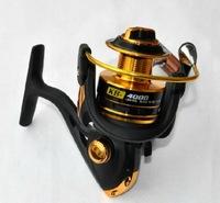 German Technology 12Bears Metal Spinning Fishing Reel Hot Sale 4000 Series For Shimano Feeder Fishing Free Shipping