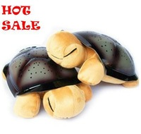 Free shipping Music Sleep projector Turtle lamp,  Tortoise light,  Colorful Light,  Star Light, night light