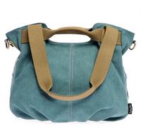 Women's canvas casual one shoulder cross-body handbag fashion women's handbag bag dumplings type bags