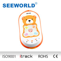 Wholesale Baby Bear smart gps tracker for kids with quay band SOS button and bi-directional calling S301