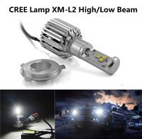 One Set High Power CREE 60W H4 LED Headlight 5400LM 6000K H4 Car LED Headlight Kit DRL Fog Headlamp Bulb