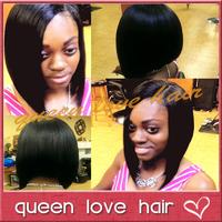 Bob style human hair wigs for sale ! silky straight u part bob wig brazilian virgin hair upart wig for black women free shipping
