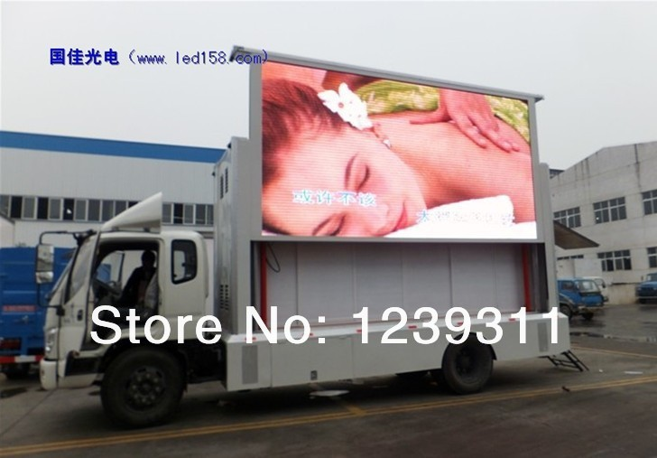Outdoor full color LED display outdoor P10 full-color LED screen LED HD display(China (Mainland))