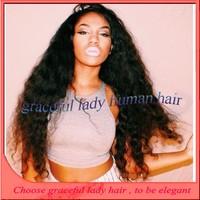 Intock 26 inch 180 density long wavy peruvian wig 100 real hair full