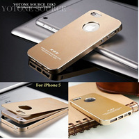 2014 New Ultrathin Aluminum Metal Case for iPhone 5 5S Phone Bag Luxury Matte Surface Free Screen Protector